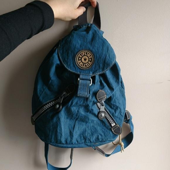 famous brand official big discount of 2019 Vintage 1990s Kipling Backpack Purse